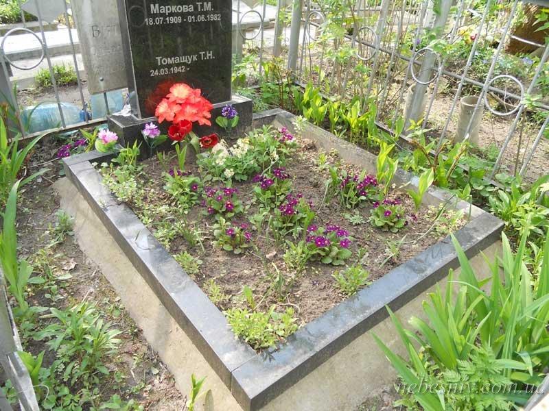 Цветник на кладбище своими руками 664