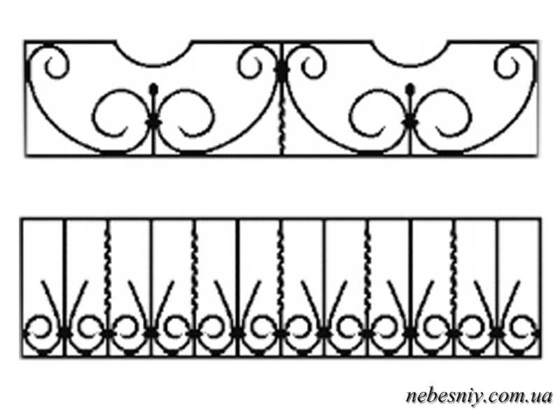 Бантики на поЧертежи оградки на могилу своими