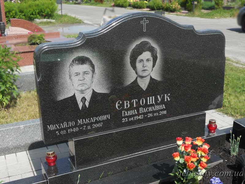 Памятники под заказ Рыбинск Эконом памятник Башня с профильной резкой Болхов