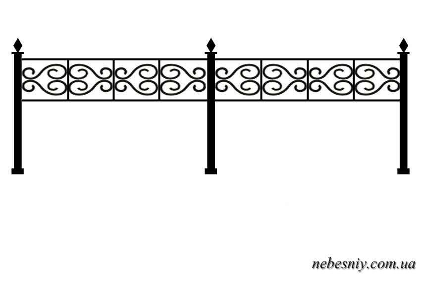 Сделать ограду на кладбище чертежи видео