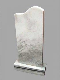 Памятники из белого мрамора