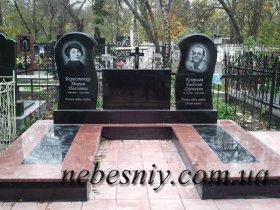 Памятники двойные,тройные