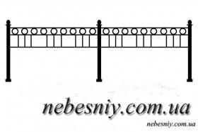 Изготовление оград из металла. Цена и эскизы оградок на кладбище